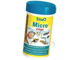 Сухий корм для дрібних акваріумних риб Tetra в чіпсах Micro Crisps 100 мл (для всіх рибок)