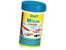 Сухий корм для дрібних акваріумних риб Tetra в гранулах Micro Granules 100 мл (для всіх рибок)