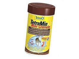 Сухий корм для акваріумних риб Tetra в гранулах TetraMin Mini Granules 100 мл (для всіх рибок)