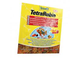 Сухий корм для акваріумних риб Tetra в пластівцях TetraRubin 12 г (для всіх рибок)