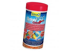 Сухой корм для аквариумных рыб Tetra в чипсах TetraPro Colour 250 мл (для всех рыбок)