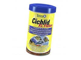 Сухий корм для акваріумних риб Tetra в пластівцях Cichlid XL Flakes 500 мл (для всіх цихлид)