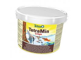 Сухий корм для акваріумних риб Tetra в чіпсах TetraMin Pro Crisps 10 л (для всіх рибок)