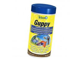 Сухий корм для акваріумних риб Tetra в пластівцях Guppy 100 мл (для гуппі)