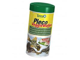 Сухий корм для акваріумних риб Tetra в пластинках Pleco Veggie Wafers 250 мл (для травоїдних донних риб)