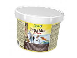 Сухий корм для акваріумних риб Tetra в пластівцях TetraMin XL Flakes 10 л (для всіх рибок)