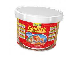 Сухой корм для аквариумных рыб Tetra в хлопьях Goldfish 10 л (для золотых рыбок)