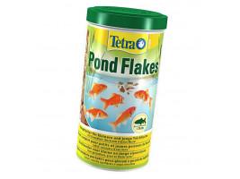 Сухий корм для ставкових риб Tetra в пластівцях Pond Flakes 1 л (для всіх ставкових риб)
