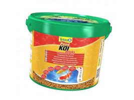 Сухий корм для ставкових риб Tetra в паличках KOI Sticks 10 л (для коропів які)