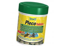 Сухий корм для акваріумних риб Tetra в таблетках Pleco Tablets 120 шт.(Для травоїдних донних риб)
