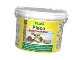 Сухий корм для акваріумних риб Tetra в пластинках Pleco Spirulina Wafers 3,6 л (для травоїдних донних риб)