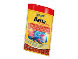 Сухий корм для акваріумних риб Tetra в гранулах Betta Granules 5 г (для півників)