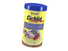Сухий корм для акваріумних риб Tetra в гранулах Cichlid Colour Mini 500 л (для всіх цихлид)