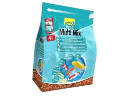Сухой корм для прудовых рыб Tetra Multi Mix 4 л (для всех прудовых рыб)