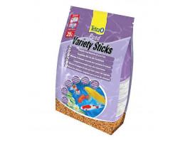 Сухой корм для прудовых рыб Tetra в палочках Variety Sticks 25 л (для всех прудовых рыб)