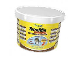 Сухий корм для акваріумних риб Tetra в гранулах TetraMin Granules 10 л (для всіх рибок)