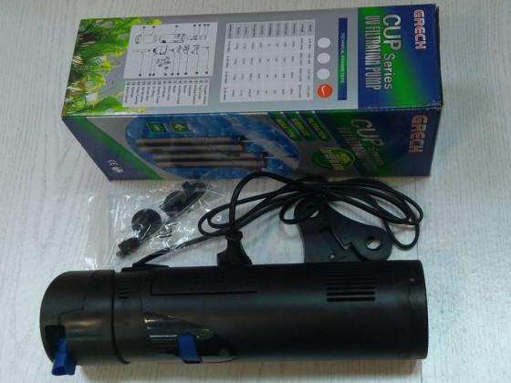 Внутренний аквариумный фильтр с УФ-Стерилизатором SunSun CUP-809