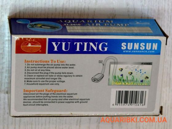 Компрессор SunSun YT-301C одноканальный