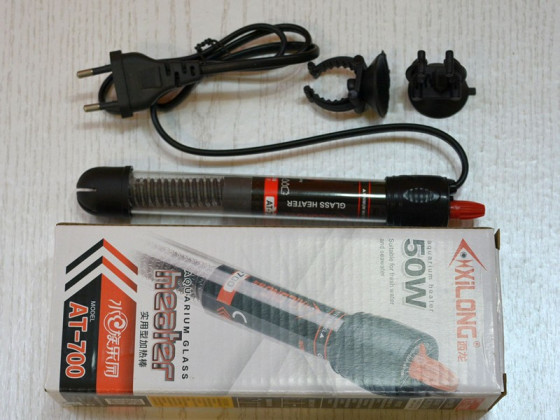Нагрівач з терморегулятором Xilong AT-700 50 Вт
