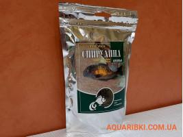 Корм Спіруліна пластівці 500 ml.Золота Рибка