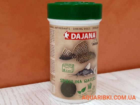 Корм Spirulina Wafers 100 ml. Dajana PET