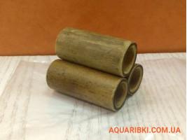 Декорація для акваріума бамбук пірамідка 5 см