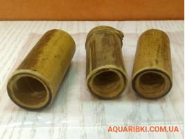 Декорація для акваріума бамбук трубки 5 см (3 шт)