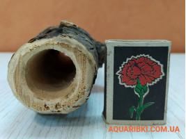 Деревянная нерестовая трубка для аквариумных сомов (ясень, дуб, акация) (d08 Украина)