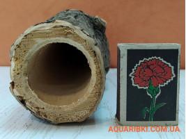 Деревянная нерестовая трубка для аквариумных сомов (ясень, дуб, акация) (d09 Украина)