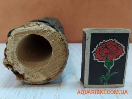 Дерев'яна нерестовий трубка для акваріумних сомів (ясен, дуб, акація) (d19 Україна)
