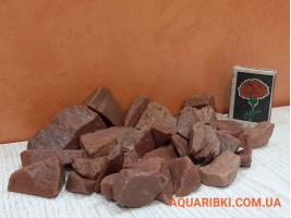 Камінь кварцит червоний невеликий 30*50мм №3050 (Україна)