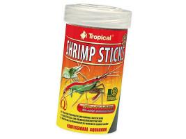 Сухий корм для креветок і раків Tropical в паличках Shrimp Sticks 100 мл