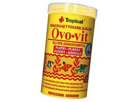 Сухой корм для аквариумных рыб Tropical в хлопьях Ovo-Vit 500 мл (для всех рыбок)