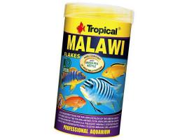 Сухий корм для акваріумних риб Tropical в пластівцях Malawi 250 мл (для травоїдних цихлид)
