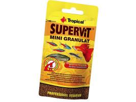 Сухой корм для аквариумных рыб Tropical в гранулах Supervit Mini Granulat 10 г (для всех рыбок)