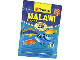 Сухий корм для акваріумних риб Tropical в пластівцях Malawi 12 г (для травоїдних цихлид)