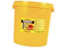 Сухий корм для акваріумних риб Tropical в пластівцях Supervit 21 л (для всіх рибок)