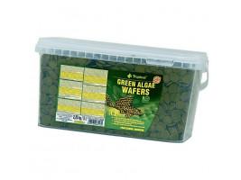 Сухий корм для акваріумних риб Tropical в пластинках Green Algae Wafers 5 л (для травоїдних донних риб)