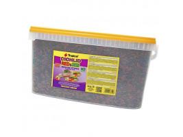Сухой корм для аквариумных рыб Tropical в палочках Cichlid Red & Green Medium Sticks 10 л (для всех цихлид)