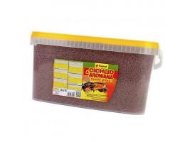 Сухий корм для акваріумних риб Tropical в паличках Cichlid & Arowana Medium Sticks 10 л (для м'ясоїдних цихлид)