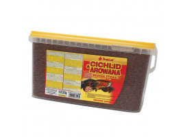 Сухий корм для акваріумних риб Tropical в паличках Cichlid & Arowana Medium Sticks 5 л (для м'ясоїдних цихлид)