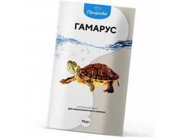 Натуральний корм для акваріумних риб Природа Гаммарус 10 г (для всіх рибок)