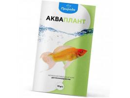 Натуральний корм для акваріумних риб Природа Акваплант 10 г (для травоїдних риб)
